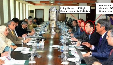 British American Tobacco delegation meets with government of Pakistan